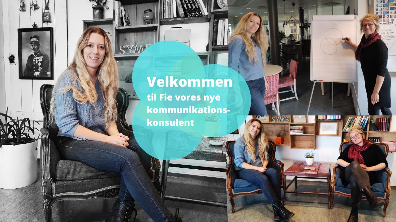 Fie SYMBs nye kommunikationskonsulent